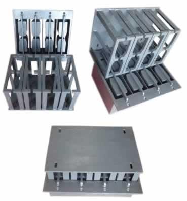 Forma para maquina de blocos Estrutural