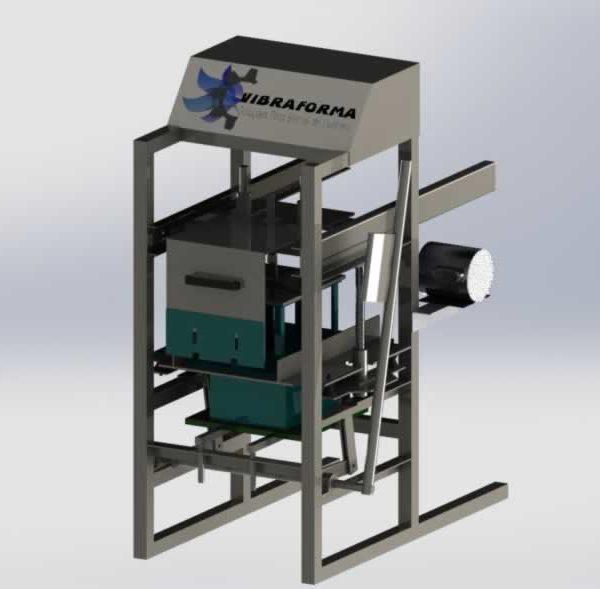 maquina para fabricação de blocos manual p30