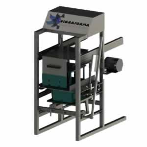 maquina para produção de blocos manual mvb.321