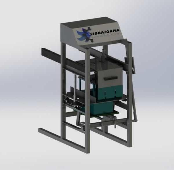 maquina para produzir blocos manual p30